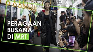 Peragaan Busana di MRT Jakarta, Pembuat Acara Ajak Gunakan Fasilitas Umum