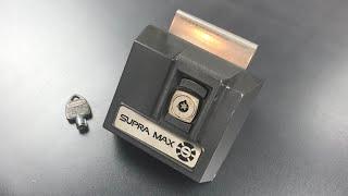 """[728] Supra Max Auto Key Safe (""""Title"""" Core) Picked"""