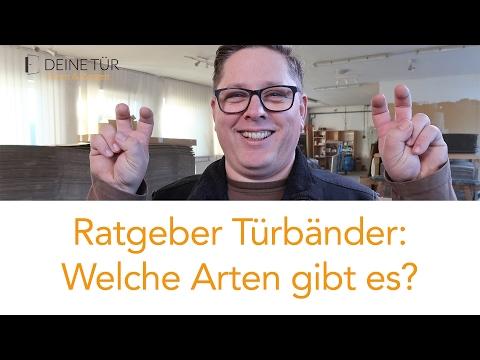 How to: Türband Arten / Ratgeber für Türbänder / Türscharnier Unterschiede / Tectus