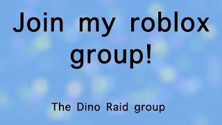 Join my roblox group!