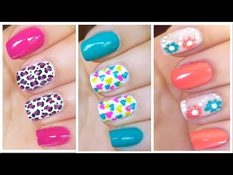 3 Cute Nail Art Designs for Spring/Summer - #2