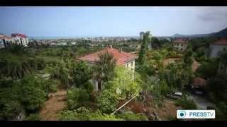 preview picture of video 'Iran Ramsar city شهر رامسر ايران'