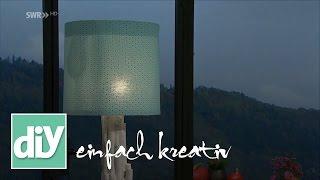 Stehlampen-Verwandlung I DIY einfach kreativ