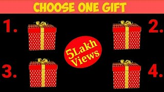 Choose One Gift 🎁🎁   Choose Your Gift   Pick One Gift   Bolly Quiz