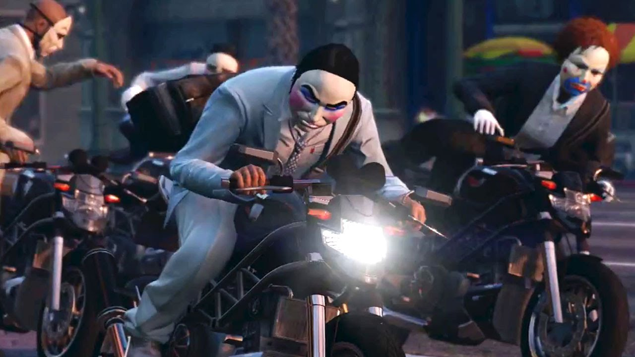 GTA 5 Online Heists – Armed Robberies (PS4 / Xbox One) #VideoJuegos #Consolas
