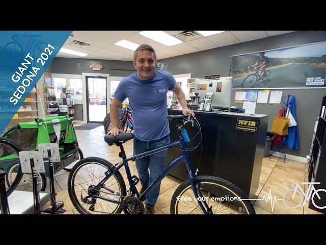 Видео Велосипед Giant Sedona DX Metallic Black