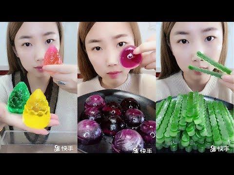 Renkli Buz Yemek Videoları - #145 ASMR (Colorful İce Eating)