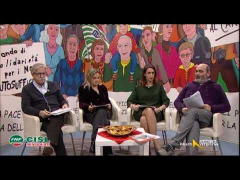 Sportello Pensioni 16 gennaio 2018 su Settimana dei Lasciti con Francesco Vacca e Rosaria Bono