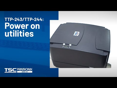 TTP 244 Pro Desktop Thermal Transfer Bar Code Printer
