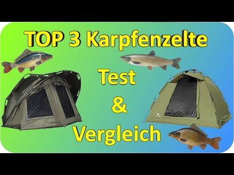 Karpfenzelte TEST & Vergleich   Top 3 Karpfenzelte Testbericht/Kaufempfehlung