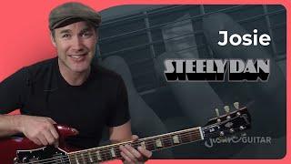 Riff #13: Josie - Steely Dan Larry Carlton (Songs Guitar Lesson RF-013) How to play