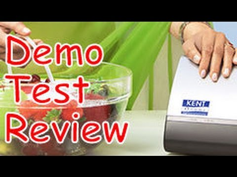 KENT VEGETABLE & FRUIT PURIFIERS REVIEW, DEMO & TEST