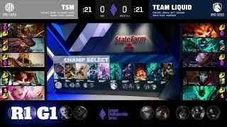 TSM vs TL - Game 1 | Round 1 LCS 2021 Mid-Season Showdown |  TSM vs Team Liquid  G1 full game