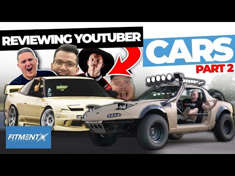 Reviewing Youtubers Cars | Part 2