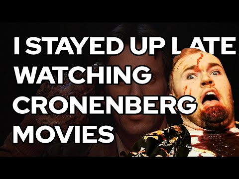 I Stayed Up Late Watching Cronenberg Movies   Curio v3e1