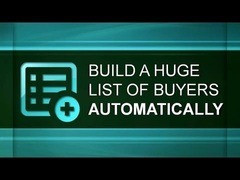 Build A Huge List Of Real Estate Buyers - Automatically - Real Estate Investing