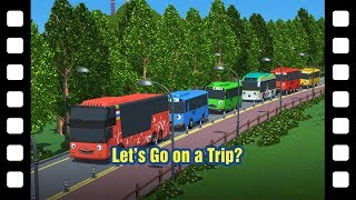 Tayo Let's go on a trip? l 📽 Tayo's Little Theater #41 l Tayo the Little Bus