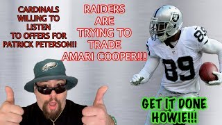 Eagles Trade Options Grow As Amari Cooper And Patrick Peterson Go On The Trade Block!!!