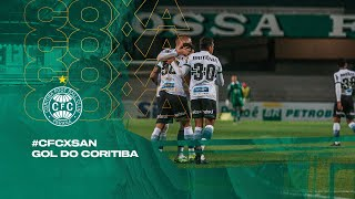 #CFCxSAN - Gol do Coritiba