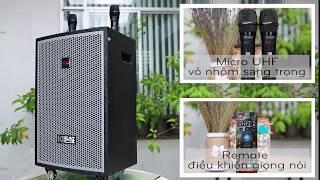 Dàn Karaoke thông minh ACNOS KDNet3011 (Loa điện)