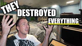 THEY destroyed MY aquarium!!