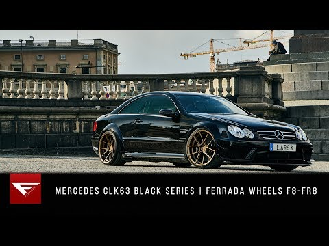 Mercedes CLK63 AMG Black Series | Swedish Monster | Ferrada F8-FR8