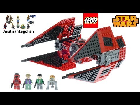 Vidéo LEGO Star Wars 75240 : TIE Fighter de Major Vonreg