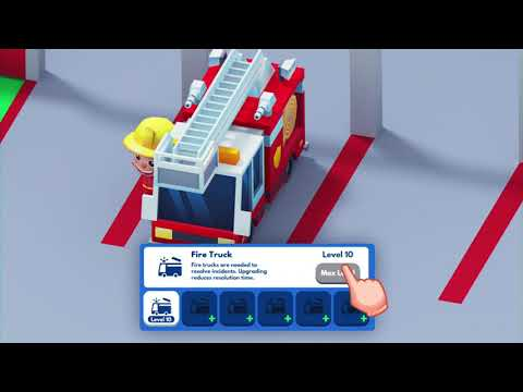 Idle Firefighter Tycoon - Fire Emergency Manager APK Video Trailer