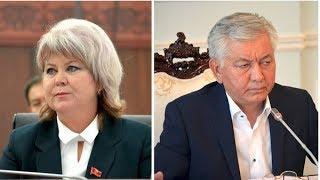 Карамушкина и Омуркулов поспорили по его исключению из СДПК