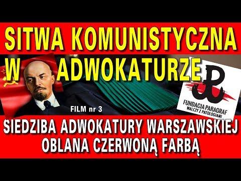 Zbrodniczy zamach w centrum Warszawy - Sitwa komuchów w adwokaturze, cz 3