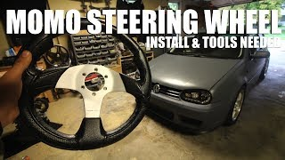 How to Install a Momo Steering Wheel & Hub