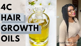 7 Best Oils For Natural 4c Hair Growth (IGBOCURLS)