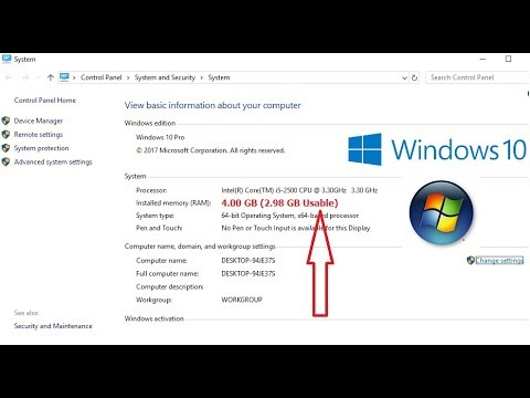 How to Fix All RAM GB Not Useable Problem in Windows 10/8/7