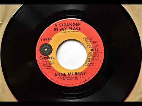 A Stranger In My Place , Anne Murray , 1971
