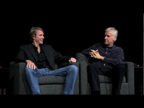 James Cameron a Michael Bay diskutují o 3D