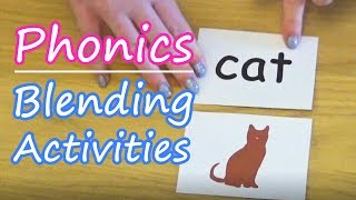 Blending Activities | Phonics
