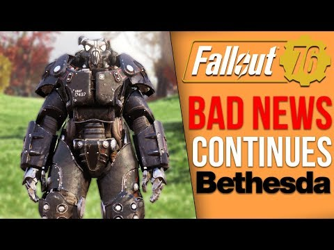 Fallout 76 News - The Game Flopped?, Community Turning on Bethesda, Ridiculous $276 Jacket