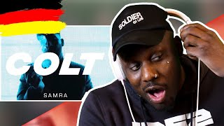 AMERICAN In GERMANY Reacts | SAMRA   COLT (prod. By Lukas Piano & Greckoe)