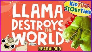 Llama Destroys The World   Llama Llama Book   Funny Book For Kids   Funny Kids Books READ ALOUD