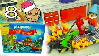 Help! Playmobil Holiday Christmas Advent Calendar - Toy Surprise Blind Bags  Day 8