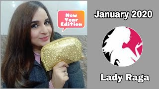 Lady Raga Bag January 2020 | Unboxing & Review |