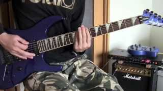 Silent Wars Guitar Cover【IE69】Arch Enemy