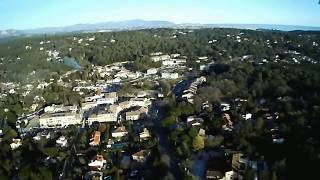 Flight up to 110 meters high with the drone Hubsan H502S FPV X4 DESIRE