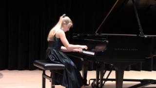 Caroline Fedor - Div. 4 | Prokofiev: The Young Juliet, Op. 75, No. 4