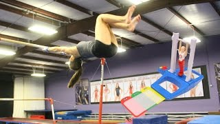IMPOSSIBLE STICK IT GAME: UNEVEN BARS