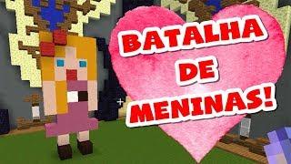 MINECRAFT: BATALHA DE CONSTRUÇÃO DE MENINAS!
