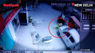 Delhi Sub-Inspector Hits Elderly Woman With Car, Then Runs Her Over