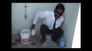 Reakcja na film instruktazowy jak uzyc latryny w Indii