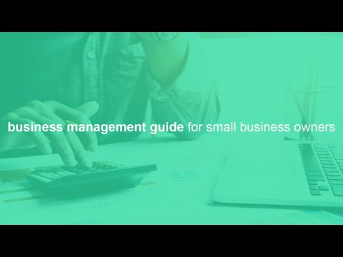 business management basics guide for small business owners ...