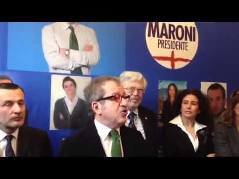Maroni presenta la lista civica